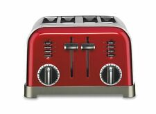 Cuisinart Metal Classic 4-slice Toaster - Toast, Defrost, Bagel, Browning,
