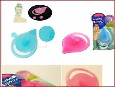 Blackhead Remover Cleansing Facial Pad Silicone Brush Beauty Tool