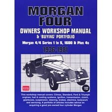 Morgan Four Owners Workshop Manual & Buying Portfolio 1936-1981 book paper