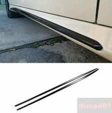 Unpainted Side Skirt Cover For Mercedes Benz CLA W117 AMG 4D Sedan 14-16