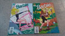Barbie # 34 & 35 Marvel 1993 Comic Book Lot