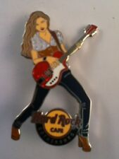 Hard Rock Cafe Pin Gothenburg Winter Girl with Red Guitar 2012