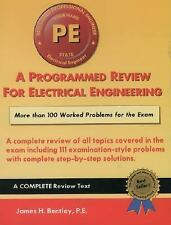 A Programmed Review for Electrical Engineering Professional Engineer's-ExLibrary