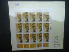 Israel 1981 A.H.Silver (Full Sheet) (SG 811) MNH