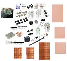 Ferric Chloride Copper PCBs Resistor Zener Diode Transistor capacitor LDR LED