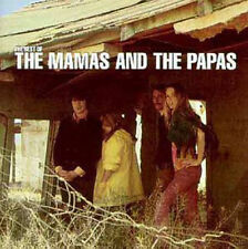 THE MAMAS & AND THE PAPAS: THE VERY BEST OF CD GREATEST HITS NEW