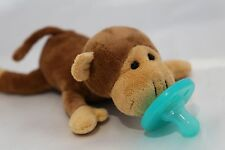Soft Cozy Monkey Plush Toy Pacifier  Good Sleep/ Shower Gift -Next