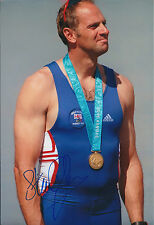 Sir Steve REDGRAVE 12x8 Signed Photo Autograph AFTAL COA Olympic GB Sydney 2000