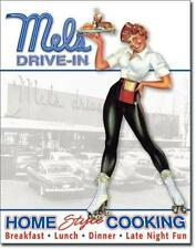 American Graffiti Drive-In Diner USA Metall Deko Schild Home Style Cooking