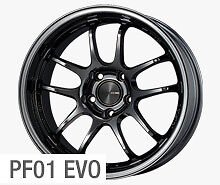 "ENKEI PF01 EVO 18x9"" Racing Wheel Wheels 5x114.3 ET 25/35/45 BLACK or WHITE"