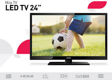 TV LED 24 HD READY 180CD/M2 8.5MS BLACK [Classe di efficienza energetica A++]