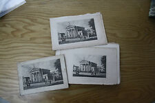COURT BEVERLEY 47    ENGRAVINGS OF THE 1880S 1900S ERA ALL IDENTICAL DUPLICATES!