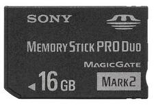 Memory Stick Memoria Tarjeta Pro Duo Mark2 16Go MS Card 16GB For Sony PSP Camera