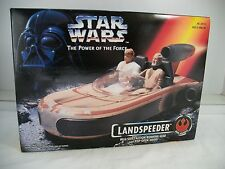 Star Wars Power of the Force POTF LANDSpeeder with shift action   ~ MISB