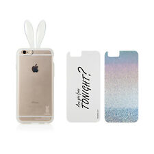 RABITO BUNNY Double Coque iPhone 6 Protection Portable ARE YOU FREE TONIGHT?