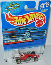Virtual Collection Cars - SUPER MODIFIED - red/white - 1:64 Hot Wheels 158/2000