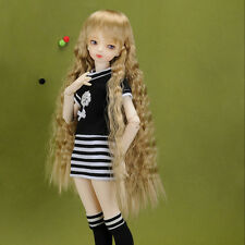 "Dollmore 17"" 1/4 BJD doll clothes  MSD SIZE - Sketch Flower One-Piece (Black)"