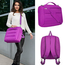 "Nylon Women's Laptop Shoulder Bag Backpack For 15.6"" Lenovo / HP / ASUS / Dell"
