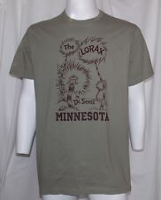 New NCAA MINNESOTA GOPHERS Dr Seuss Goes to College Unisex L THE LORAX TCX TEE