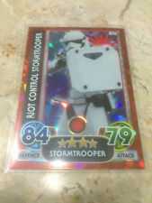 STAR WARS Force Awakens - Force Attax Extra Trading Card #107 RiotC Stormtrooper