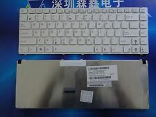 Genuine ASUS A42J K42J X42J K42D A43E K43S A43 A43S Keyboard US English White