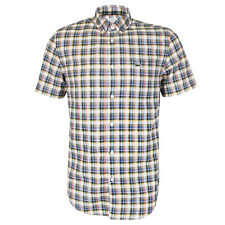Lacoste - CH6294 Multi Check SS Shirt - Size 38/S - *NEW W/ TAGS* RRP £85