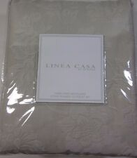 Linea Casa by Sferra Gray Floral Pattern King Coverlet Set New Stonewashed 3 pc