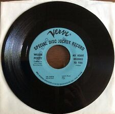 "WILSON PICKETT ""My Heart Belongs To You"" PROMO Verve EX R&B / Soul 45   VK-10378"