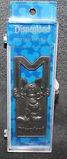 "DISNEYLAND ""M"" Mickey Mouse Bottle Opener Souvenir PEWTER FINISH"
