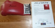 PSA/DNA VINTAGE MUHAMMAD ALI AUTOGRAPHED-SIGNED RED EVERLAST BOXING GLOVE Z02526