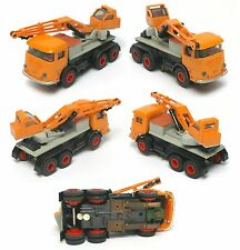 1969 Faller Germany TOW TRUCK Construction CRANE HO Slot Car Clean & Incredible!