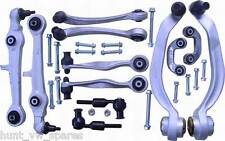 AUDI A4 B5 A6 C5 - FRONT SUSPENSIONS KIT ARMS BALL JOINTS TRACK RODS SAK91588