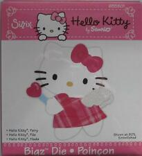 Sizzix  Bigz HELLO KITTY FAIRY  655801ANGEL WINGS WAND