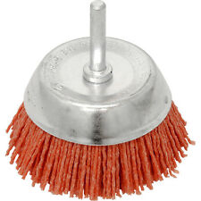 NEW Nylon Brush Cup 50mm. rust/paint/other removal. fits drill