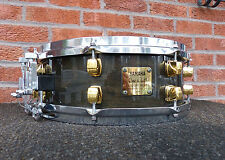 YAMAHA DAVE WECKL SIGNATURE SNARE / 5 X 14 MAPLE SHELL DUAL STRAINERS / JAPAN