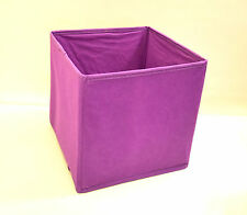 Foldable COLLAPSIBLE Canvas Fabric Storage Box Shelf OFFICE Clothes Toys