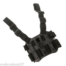 BlackHawk CQC Serpa Tactical Holster Platform 432000PBK Black Authentic
