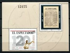 KOLUMBIEN COLOMBIA 2007 Zeitung El Espectador Newspaper Block 70 ** MNH