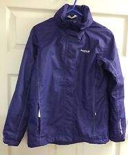 Regatta Purple Isotex 5000 Adventure Tech Zip Jacket With Hood  11-12 Years