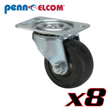 "8 Penn-Elcom 5291 2""Swivel Caster for Rack Cabinets Guitar Cabinets & bass rigs"