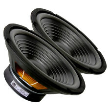 "Pair GRS Woofer 8PF-8 8"" Paper Cone Foam Surround 8ohm 200W 87dB 1.50""Coil"
