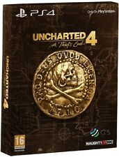 Uncharted 4 A Thief's End Special Steelbook Edition PS4 * NEW SEALED PAL *