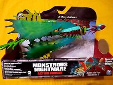 DreamWorks Action Dragon Hakenzahn Monstrous Nightmare Alptraum+Reitersattel NEU
