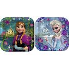 "Disney's FROZEN Square 7"" inch Dessert Party Paper Plates"