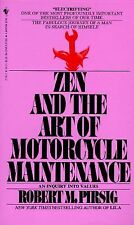 Zen and the Art of Motorcycle Maintenance by Robert M. Pirsig 1984 Paperback