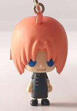 Gintama Bean Eyes Mascot Swing PVC Keychain SD Figure Yato Tribe ~ Kamui @49627