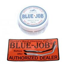 Blue Job Exhaust Chrome Polish For Harley Davidson Cruisers etc 28gr 1oz Tub