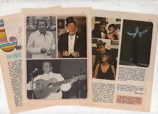 Q50  Clipping-Ritaglio del 1976 Domenico Modugno