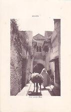 Heliogravure MAROC MEKNES Une vieille rue