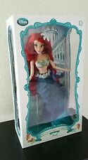 "Disney Store Limited Edition Ariel Doll Little Mermaid 1 of 6000 NRFB doll 17""LE"